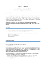 Soft Skills Trainer Resume Dermot Reynolds Lead Architect 2016