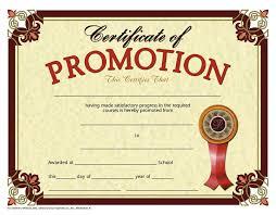 certificate promotion 30 set h va609