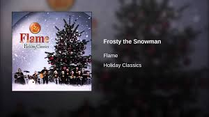 frosty the snowman youtube