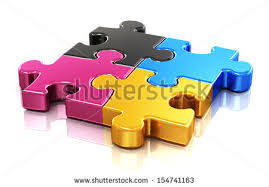 Cmyk Color Spectrum Puzzle Cmyk Printing Stock Images Royalty Free Images U0026 Vectors