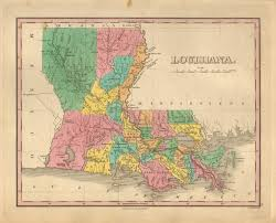 Map Of Louisiana Purchase Antique Maps Of Louisiana