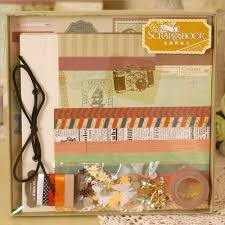 photo album supplies vintage scrapbook kit baby wedding gratuation travel diy album