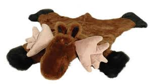 Moose Area Rugs Moose Faux Fur Area Rug Large Plush Moose Skin Rug
