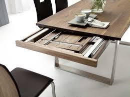Moderner Esstisch Holz Stahl Esstisch Nussbaum Mit 2x50cm Auszug Bestellen Pickupmöbel De