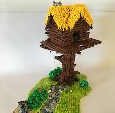 Baumhaushotel Bad Zwischenahn Lego Moc Baumhaus Mit Bananen Dach Zusammengebaut Com