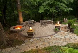 most top 20 fire pit landscaping on the back yard with pool and
