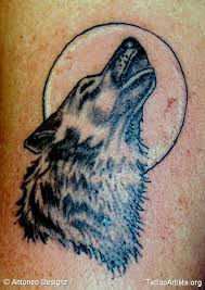 26 best howling wolf tattoo designs images on pinterest animal
