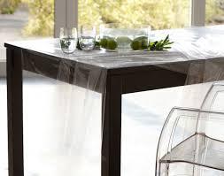 nappe cuisine plastique plastique de protection transparent pour nappe becquet