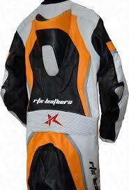 leather motorcycle coats halo evo sports orange leather motorcycle suit