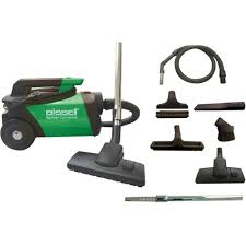 Canister Vaccum Bissell Biggreen Commercial Canister Vacuum Multi Bgc3000 Best Buy