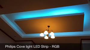 led cove lighting strips philips cove light led strip youtube