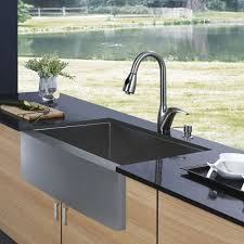 Faucet And Soap Dispenser Placement Faucet Com Vg15001 In Stainless Steel By Vigo