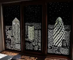 Blackout Paper Blinds Modern Blinds For Windows Double As Spectacular Shadow Art