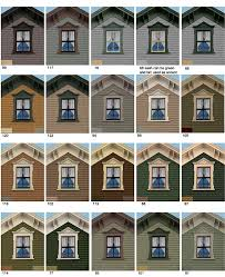 exterior house colors consultations old house guy offers a variety