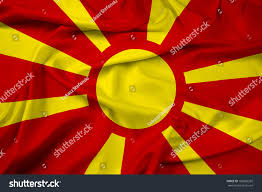Macedonian Flag Waving Macedonia Flag Stock Illustration 186820292 Shutterstock