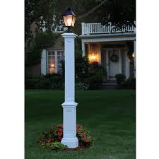 9 1 2 inch w x 9 1 2 inch d x 72 inch h signature lamp post post