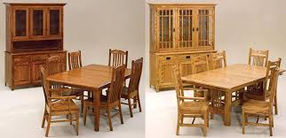 Custom Built Dining Room Tables by Amish Woodworking Handcrafted Furniture Made In The Usa