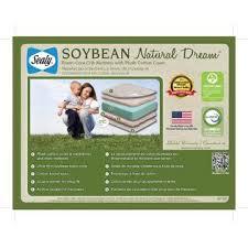 Sealy Soybean Crib Mattress Sealy Soybean Foam Crib Mattress