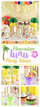 easy hawaiian luau ideas squared