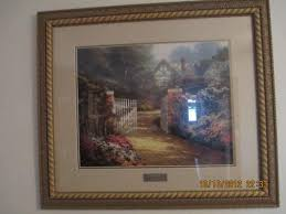 home interior pictures value kinkade framed prints ebay