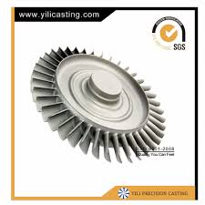 jet engine wheel turbine wheel for mini jet engine turbine wheel