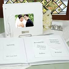 wedding wish book white wedding wishes note card guest book guest books pen sets