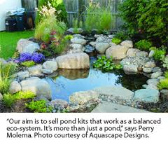 Aquascape Canada How A Water Garden Works Greenhouse Canada