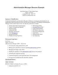 resume proficiencies examples health administration resume free resume example and writing sample administration resume seangarrette cosample administration