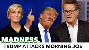 attacks morning joe but what started it
