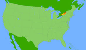 Michigan On The Map by Lake Ontario Global Great Lakes