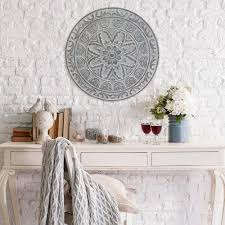 The Home Decor Stratton Home Decor Stratton Home Decor Medallion Wall Decor