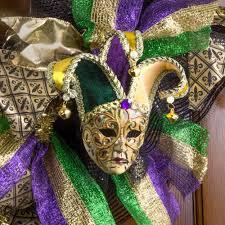 swirl jester mardi gras mask ornament mg20 310 mardigrasoutlet