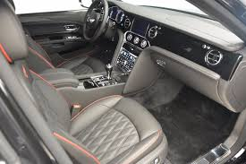 black bentley interior 2017 bentley mulsanne speed stock b1207 for sale near greenwich