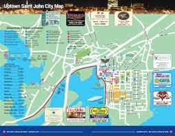 Portland Street Map by Maps See Saint John New Brunswick
