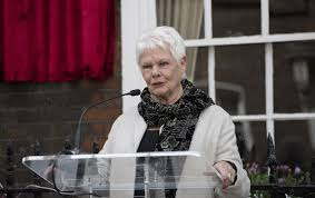 dame judi dench had an encounter with homophobic protesters pinknews
