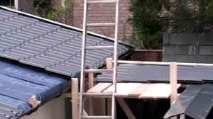 Insulation Blanket Under Metal Roof by Garage Roof Condensation Problem Youtube