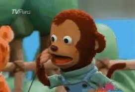 Monkey Meme - blushing monkey monkey puppet know your meme