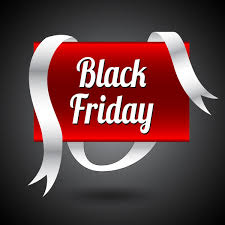 black friday free black friday banner with white and red color free vector in adobe