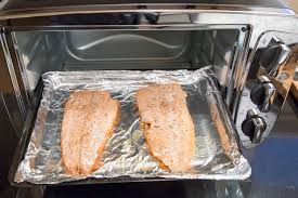 Can Toaster Oven Be Used For Baking How To Broil Salmon In The Toaster Oven Livestrong Com