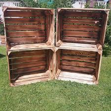Wohnzimmer Tisch Holzkiste Tisch Holzkisten 28 Images 12 St 252 Ck Alte Rustikale