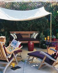 Shade Backyard Diy Backyard Ideas For A Sunny Day Martha Stewart