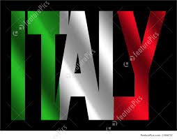 Italian Flag Images Illustration Of Italy Text With Italian Flag