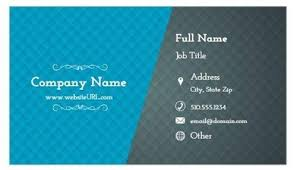 Job Title On Business Card 10 Easy To Personalize Business Card Designs