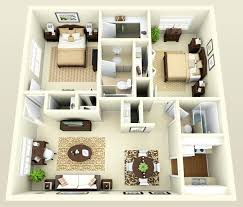 cheap 2 bedroom apartments 2 bedroom house plans 3d house floor plans 3 bedroom 2 bath 3d