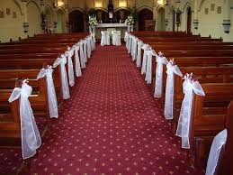 church pew decorations how to make wedding pew decoration looks beauty home decor