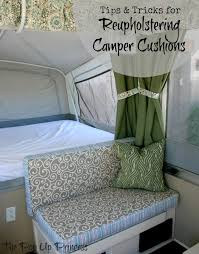 Caravan Sofa Covers Reupholstering Your Camper Cushions The Pop Up Princess