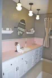 Bathrooms Ideas With Tile by 73 Best What To Do With A 50 U0027s Pink Bathroom Images On Pinterest