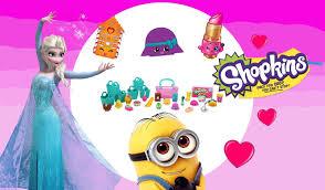 shopkins shoppin cart minion color dohvinci play doh frozen