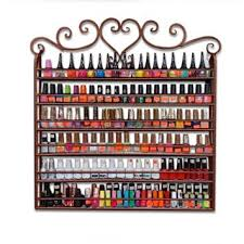 buy dazone u0026acirc u0026reg wall mountable nail polish rack 5 tier