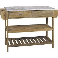 etabli cuisine meuble cuisine bois et zinc affordable meuble cuisine kaki u